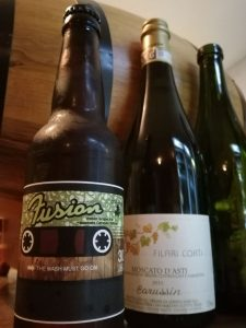 Fusion, birra di Moscato