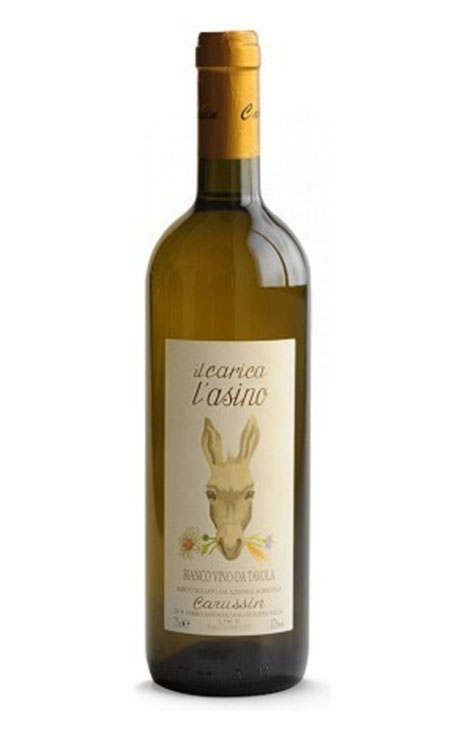 Carica l'Asino, vino bianco piemontese